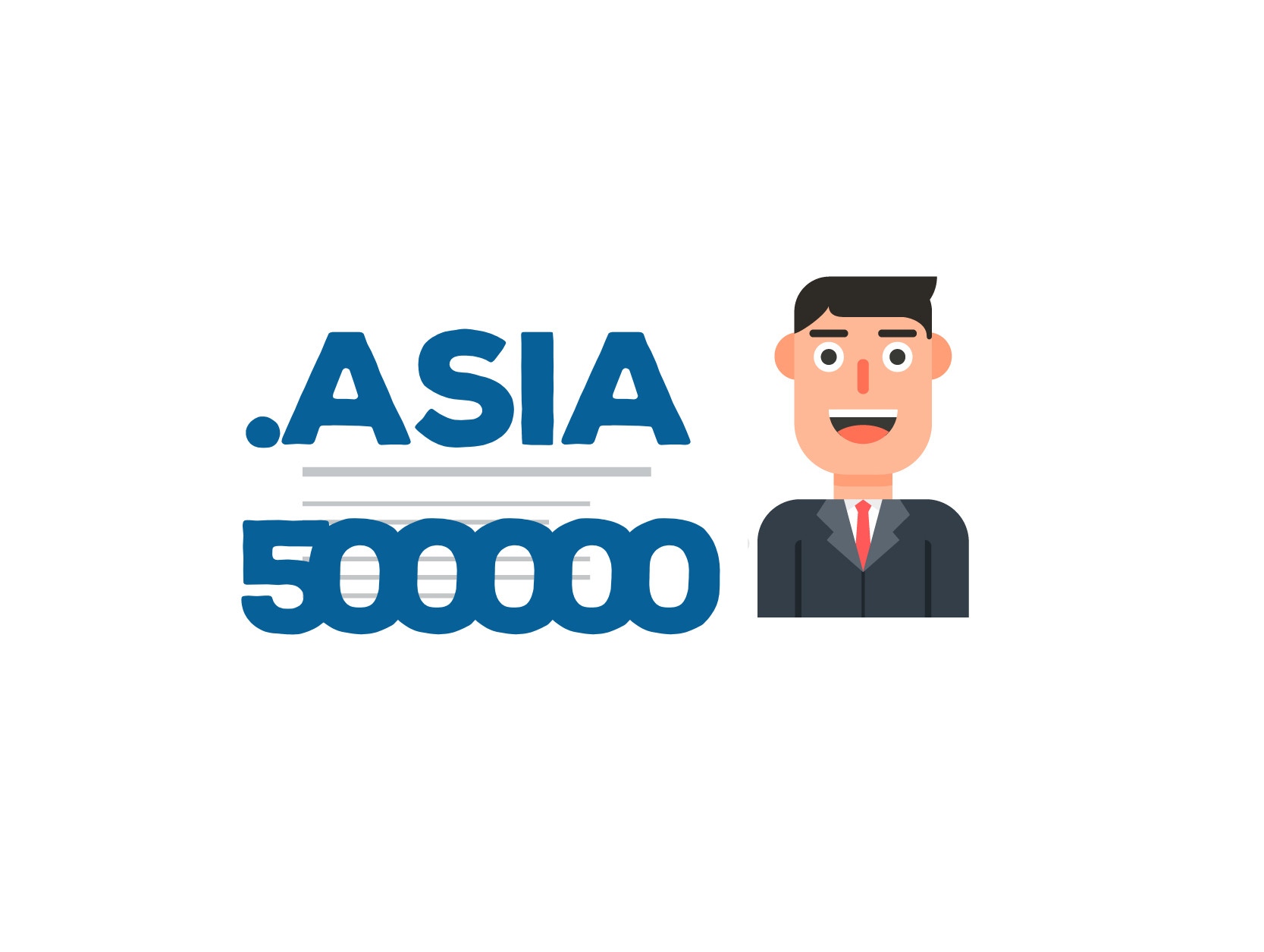 Pół miliona domen .ASIA