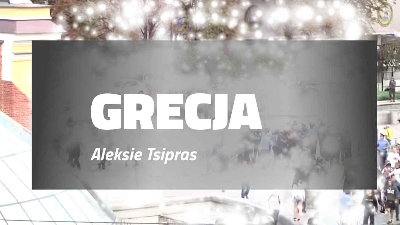 W Grecji Premier Tsipras podał się do dymisji