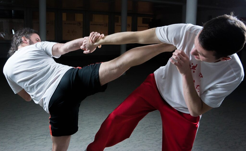 High kick szkolenie MMA