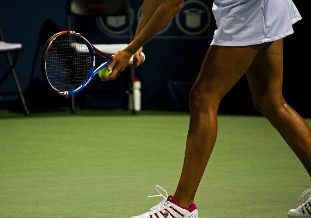 Tenis - nauka forehand