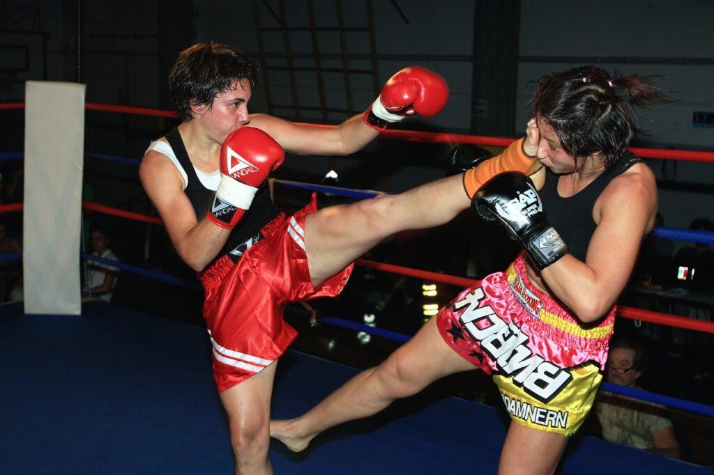 Trening low kick