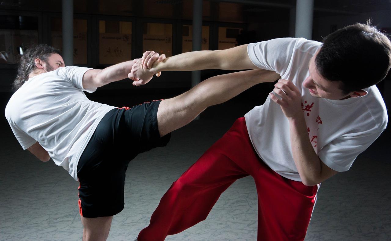 Low kick trening